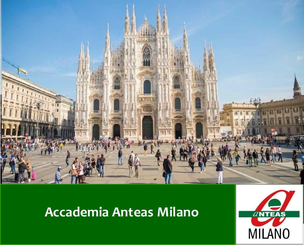 Anteas accademia anteas milano for Accademia di milano