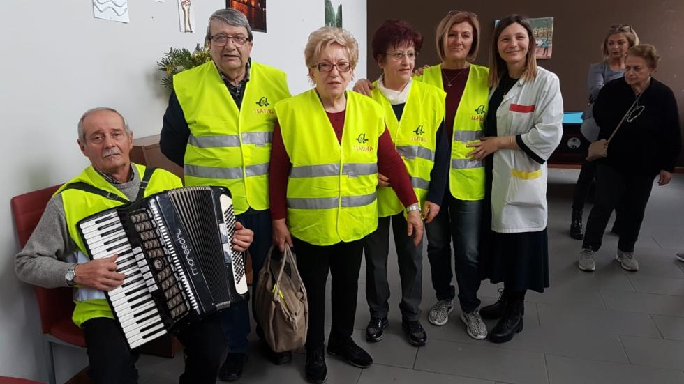 Anteas Chieti in visita ai malati di Alzheimer