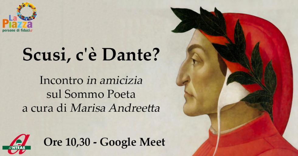 Inizia il ciclo di incontri su Dante Alighieri, in occasione delle celebrazioni per i 700 anni dalla morte.