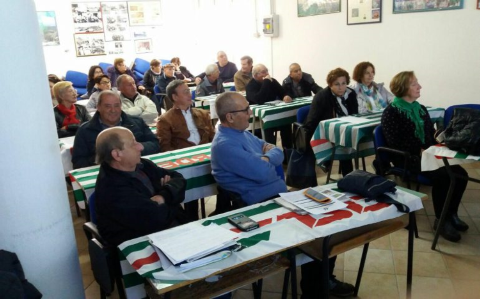 Segretariato sociale a Tortolì, Con Anteas Ogliastra