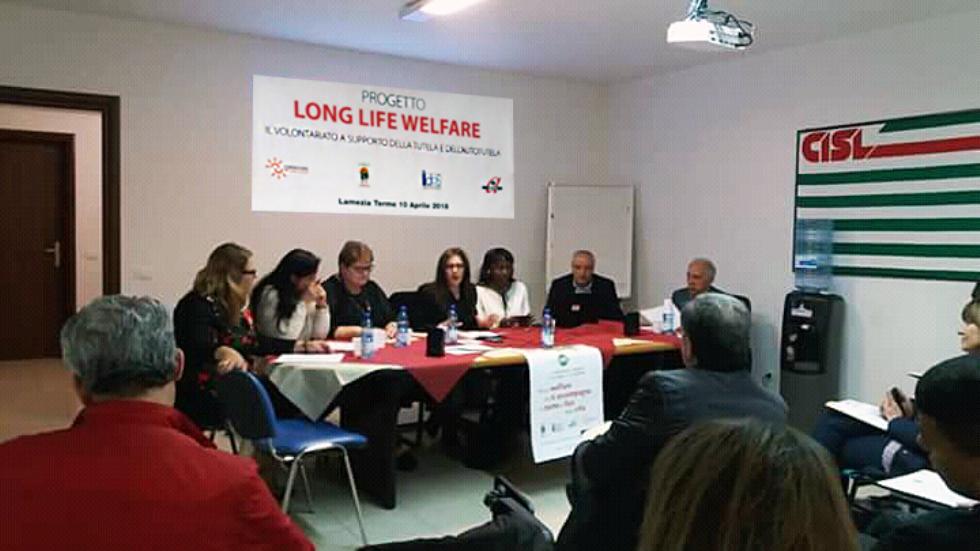 Il progetto Long-Life-Welfare in Calabria, il 10 aprile 2018
