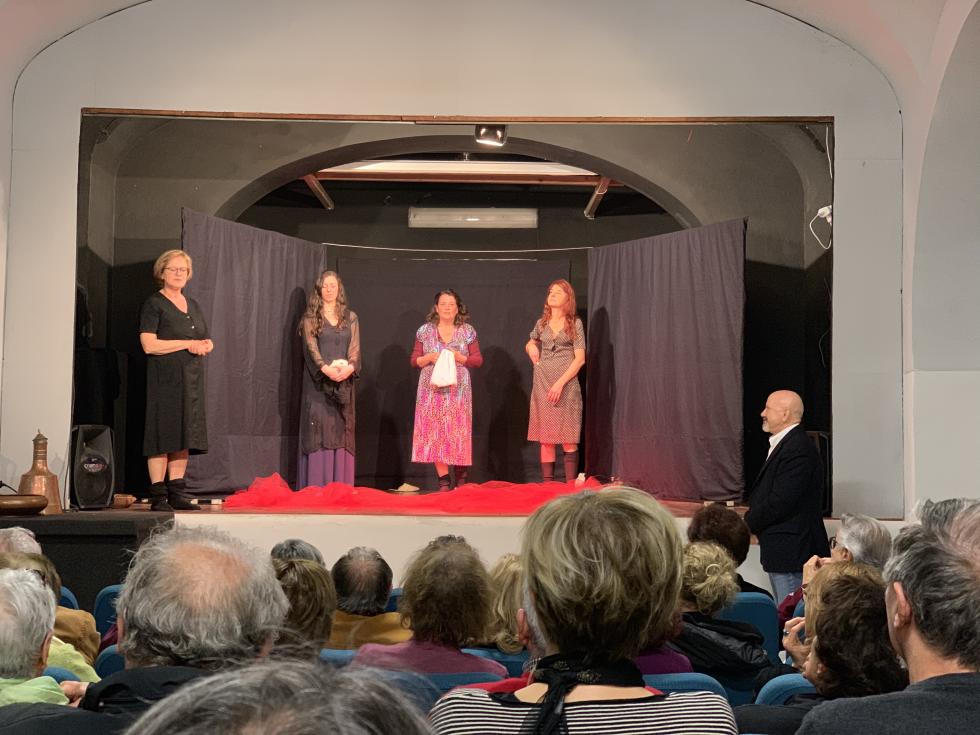 Dies irae, successo per lo spettacolo teatrale promosso da Anteas Roma