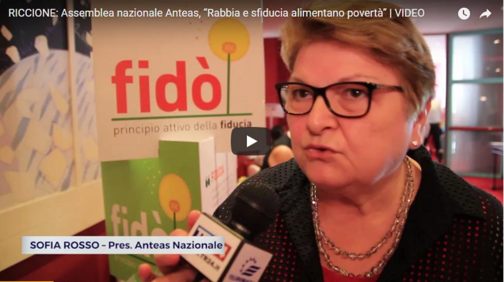 Assemblea Nazionale di Riccione. Intervista di Teleromagna a Sofia Rosso, presidente di Anteas Nazionale