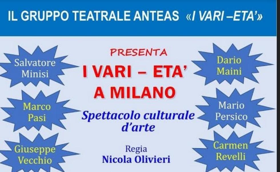 Il gruppo teatrale di Anteas Milano presenta: