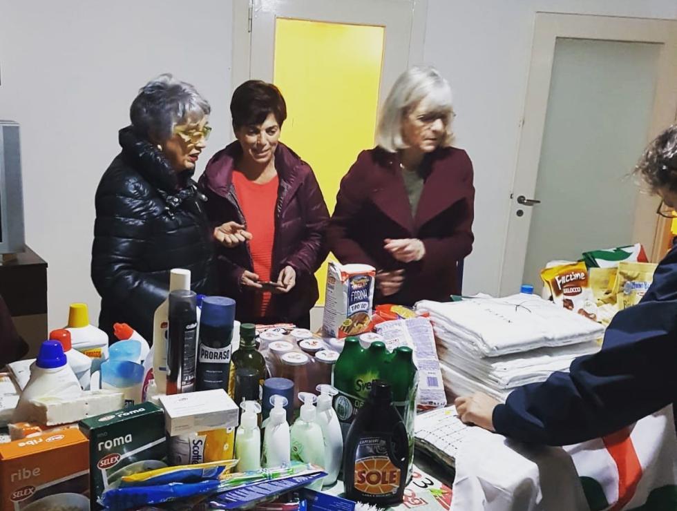 Anteas Brindisi, progetto migrantes Aiuto concreto a 8 migranti, raccolta generi di prima necessità, indumenti e biancheria.