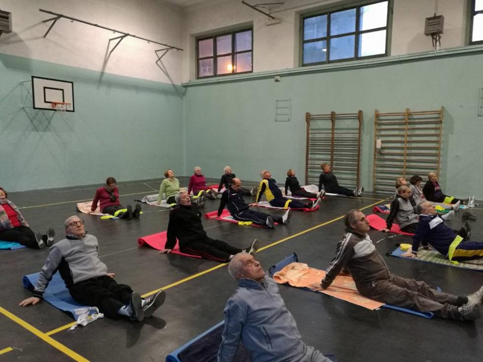 Al via i corsi di ginnastica dolce organizzati da Anteas a Taranto per gli anziani
