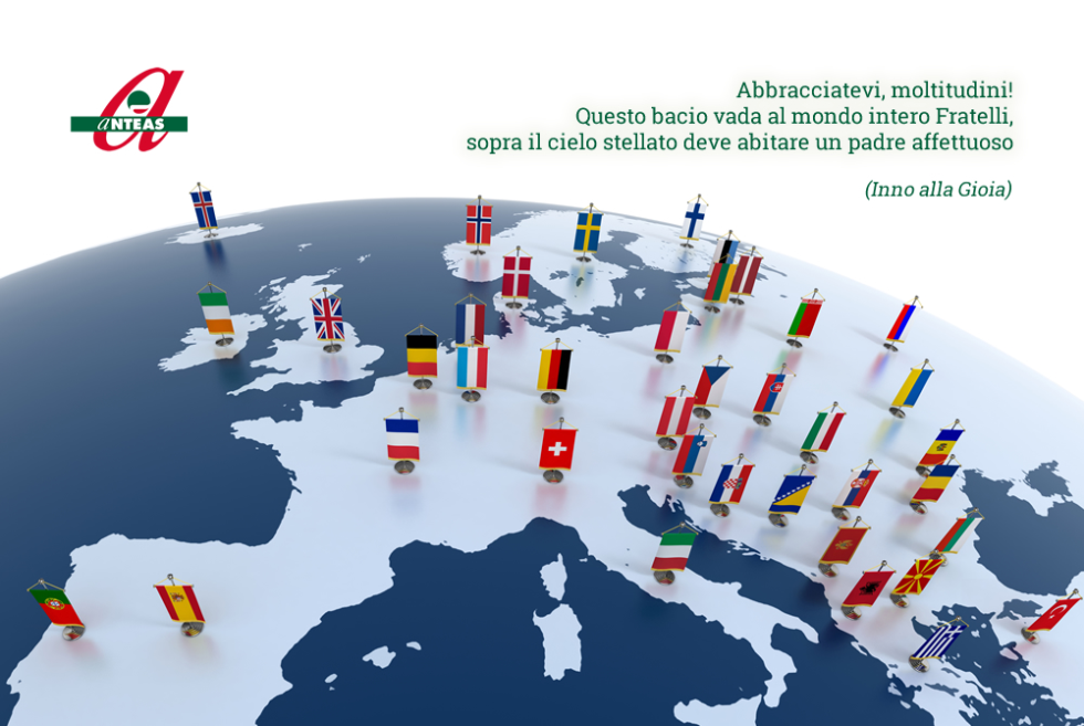 Buona festa dell'Europa da Anteas