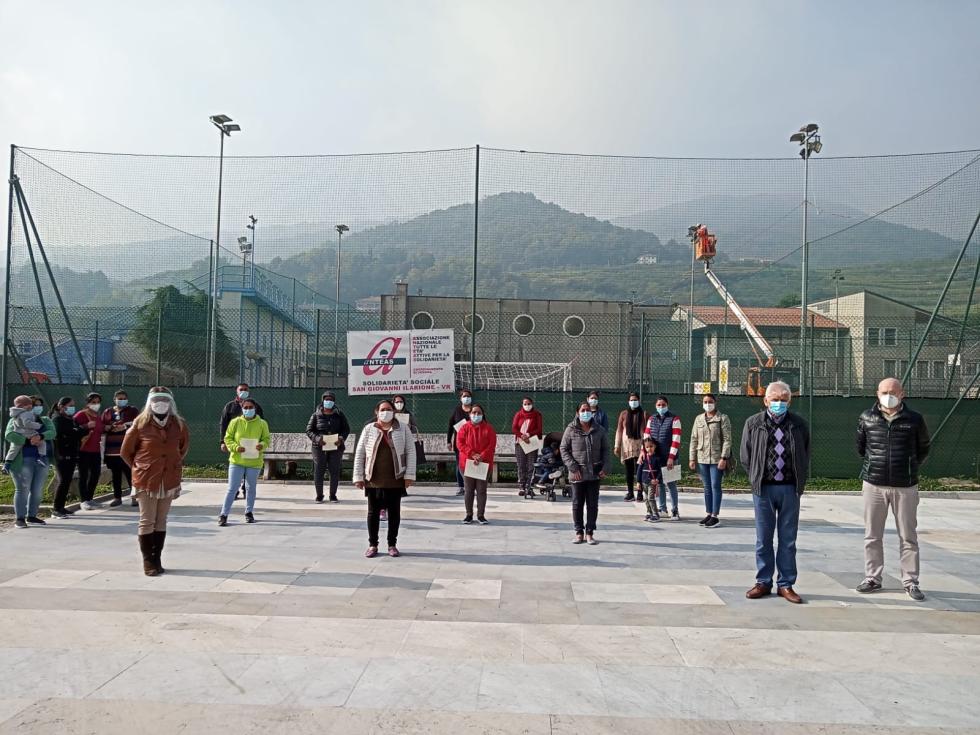 Corso di italiano per stranieri organizzato da Anteas S.Ilarione (VR)