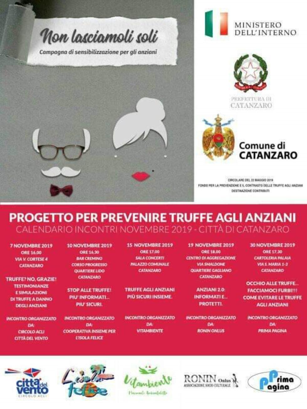 Anteas Catanzaro e il progetto