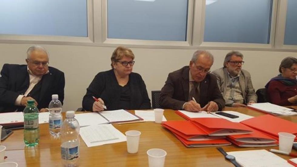 Incontro a Roma con i presidenti regionali Anteas
