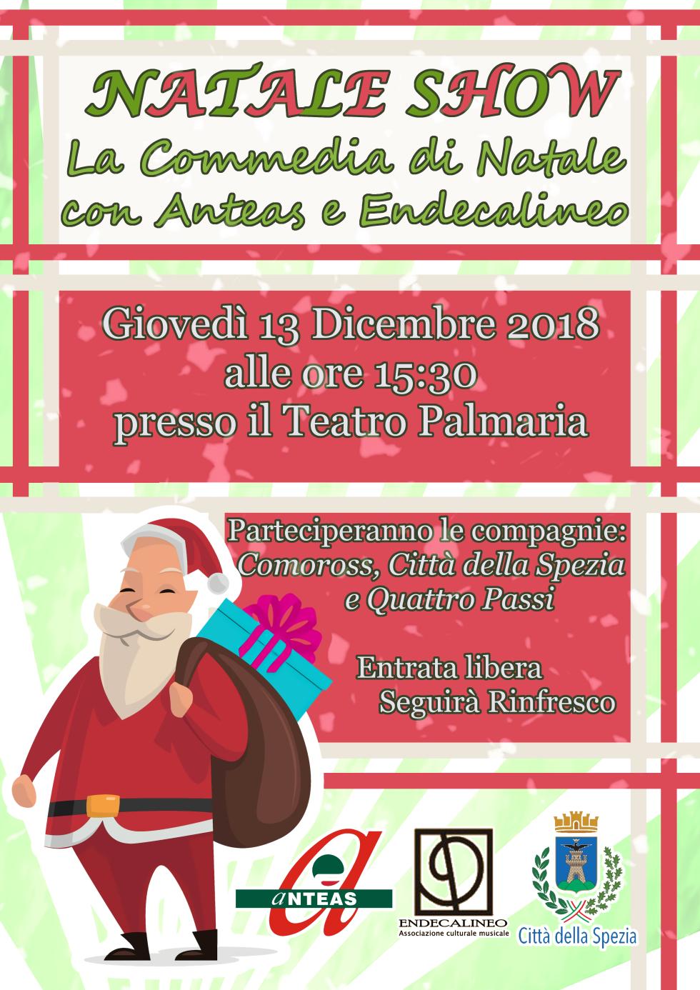 Anteas la Spezia presenta: Natale show