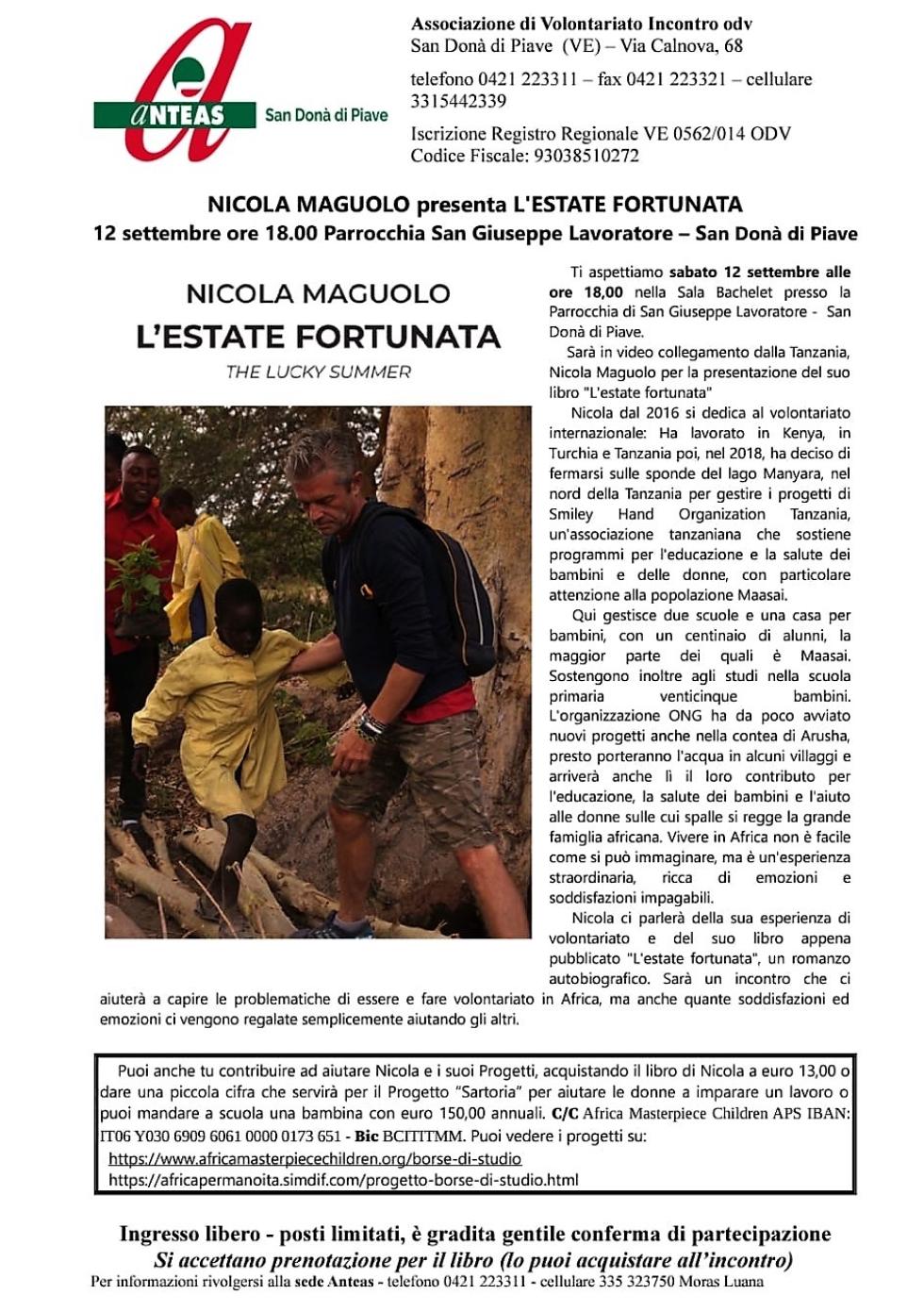 Iniziativa di Anteas San Donà di Piave (Ve).