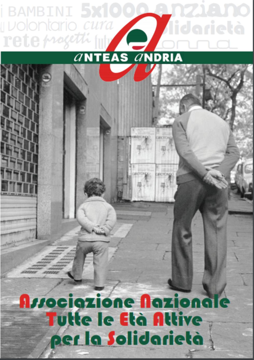 Anteas Andria,  tante iniziative per il  2018 e una  grafica convincente