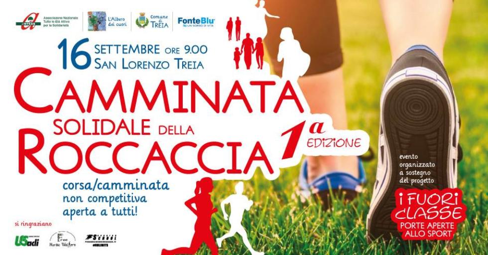 Camminata solidale della Roccaccia, con la partecipazione di Anteas Macerata