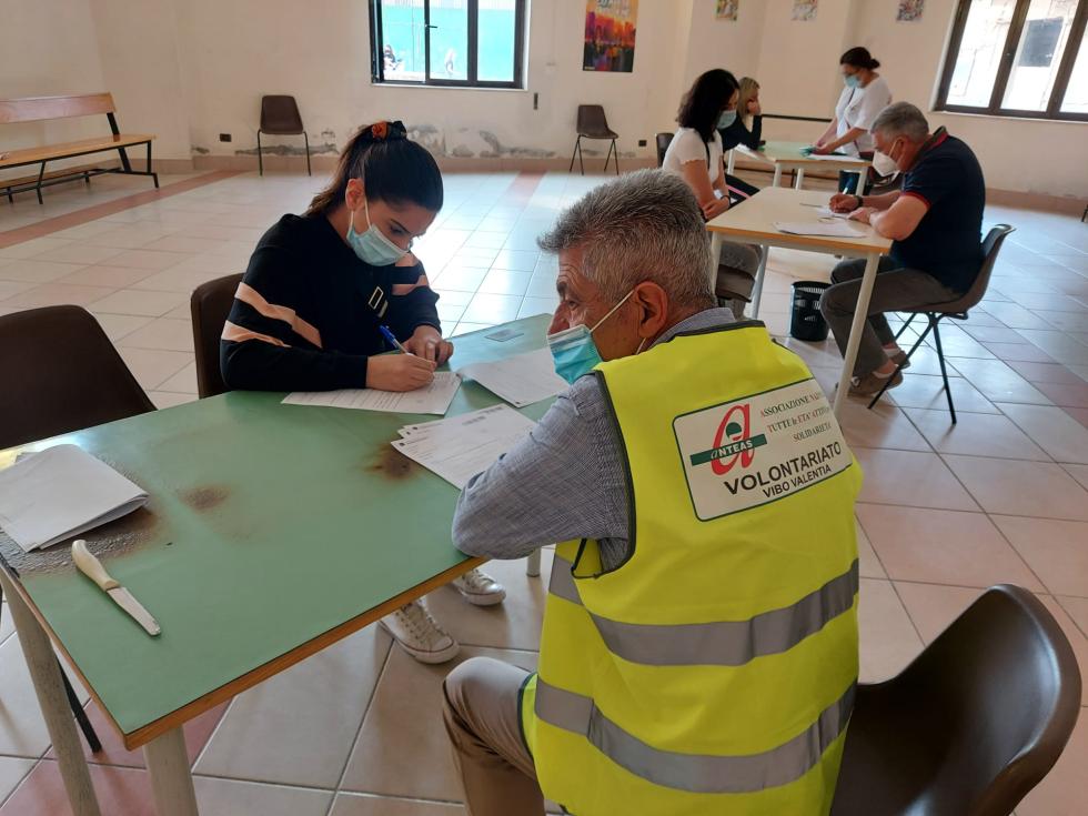Anteas di Vibo impegnata nella campagna vaccinale