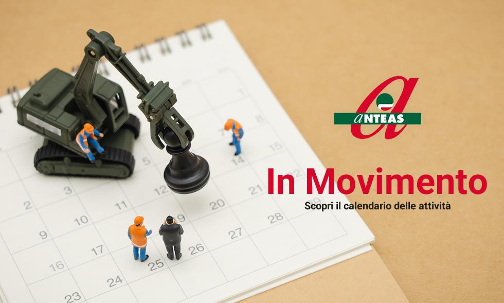 Anteas in movimento vi da appuntamento a Settembre per aggiornarvi su tutte le attività. Buona estate!