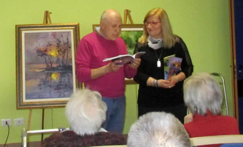 Serata con arte e poesia a Merate, alla Casa Famiglia Olgiate Molgora