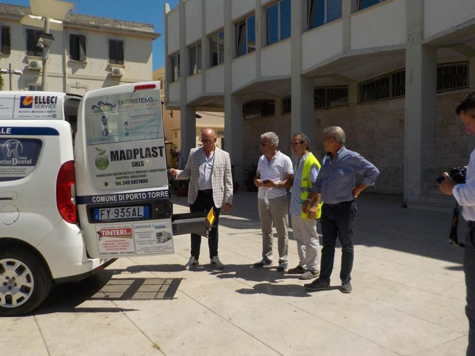 Un nuovo Taxi solidale a Porto Torres, con Anteas