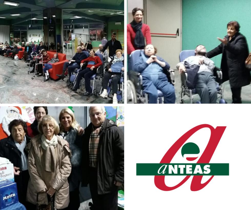 I volontari di Anteas Bari visitano gli ospiti della RSA Apelusion