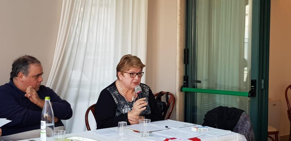 Assemblea Anteas in Abruzzo, con la partecipazione della presidente nazionale Sofia Rosso