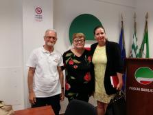 Visita della delegazione pugliese all'expo di Milano