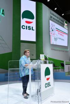 Anteas al XVIII° Congresso confederale CISL, Roma Palazzo dei Congressi, 28 giugno 1 luglio 2017